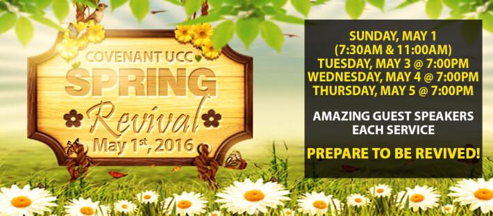 Spring Revival 2016