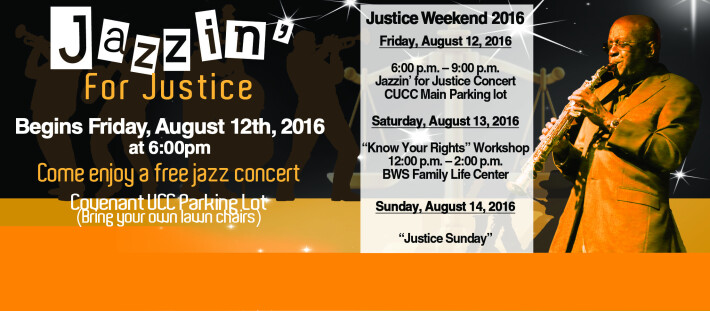 Enjoy great music at Jazzin For Justice